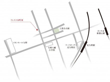 大宮大成町3丁目地図