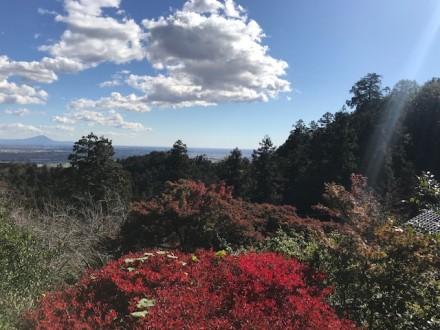 大平山神社からの景色